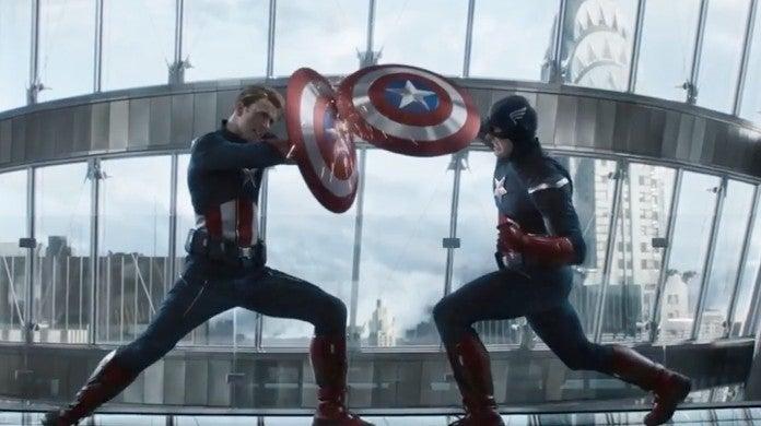 avengers endgame captain america fight