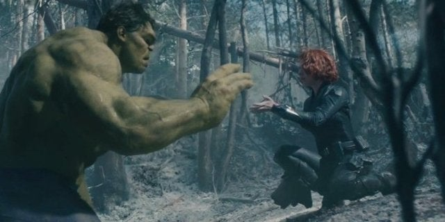 avengers endgame hulk black widow romance