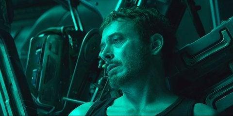 Avengers Endgame Iron Man Death