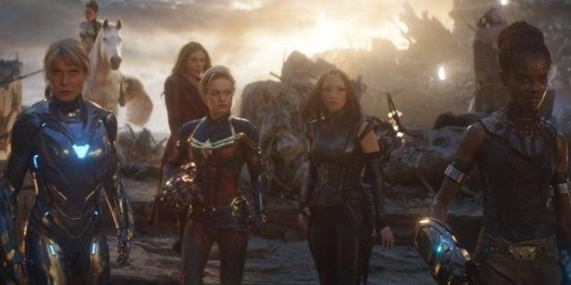 Avengers Endgame superheroines