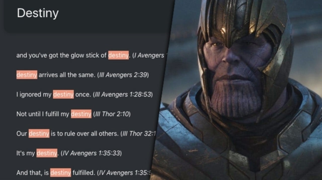 Marvel Fan Creates Website To Search Mcu Quotes As If They