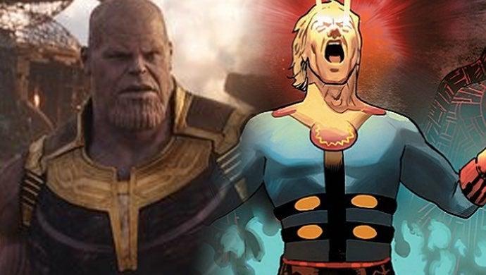 avengers endgame thanos eternals