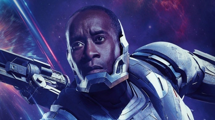 Avengers Endgame War Machine Don Cheadle