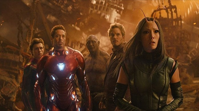 avengers infinity war titan