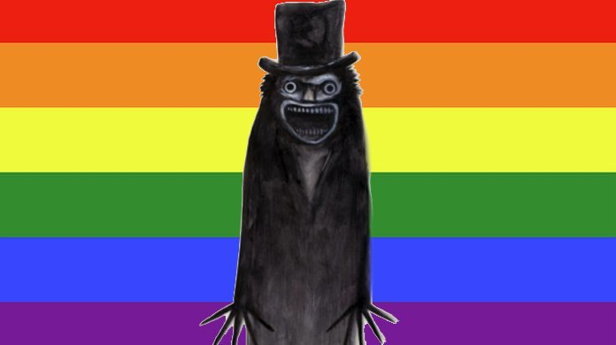 babadook gay meme blu ray