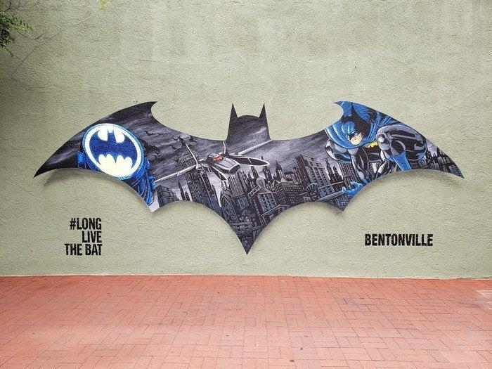 Batman Mural Bentonville