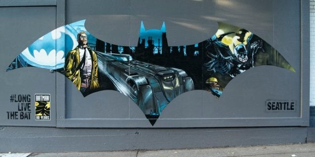 Batman 80th Anniversary Murals Pop Up in Seattle and More US Cities