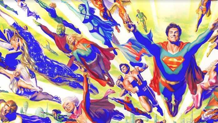 Bendis Legion of Super-Heroes - Alex Ross