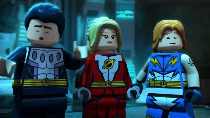 Bendis Legion of Super-Heroes - Legos