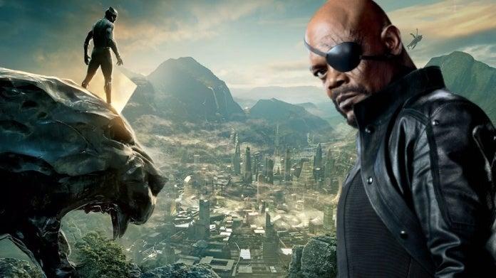 Black Panther Wakanda Nick Fury Samuel L Jackson comicbookcom