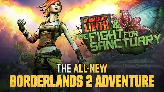 Borderlands 2 DLC Lilith