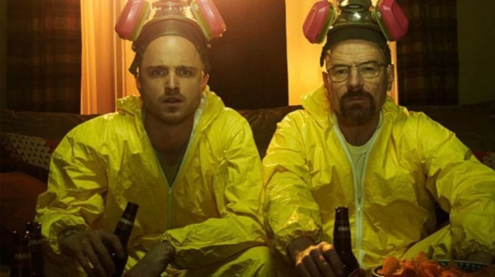 breaking bad walter white jesse pinkman bryan cranston aaron paul