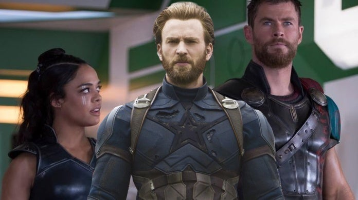 chris hemsworth tessa thompson chris evans