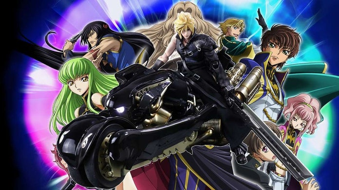Code Geass Meets Final Fantasy Vii In This Gorgeous Mash Up