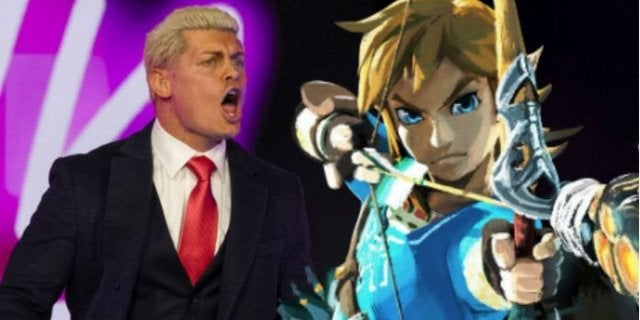 AEW's Cody Rhodes Gives His Thoughts on Legend of Zelda: Link's Awakening and Breath of the Wild Sequel