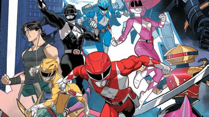 Comic Reviews - Go Go Power Rangers Forever Rangers #1