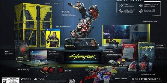 Cyberpunk 2077 Collector's Edition in Stock For PS4 and Xbox One