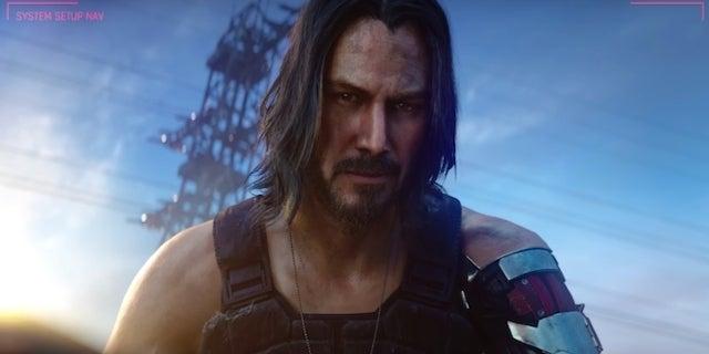 Cyberpunk 2077 Confirms Keanu Reeves Is A