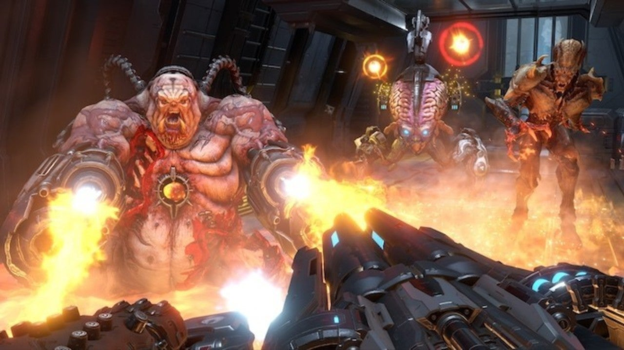 DOOM Eternal Won't Have Traditional Deathmatch Multiplayer