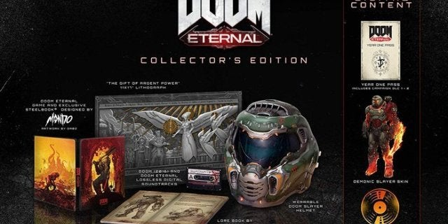 The DOOM Eternal Collector's Edition Is in Stock for Xbox One and PC