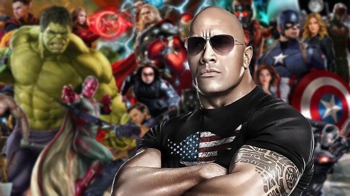Dwayne The Rock Johnson Marvel MCU Role