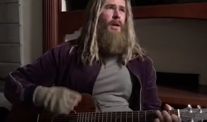 fat thor johnny cash