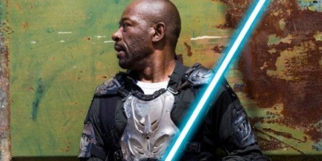 Fear Walking Dead Morgan lightsaber