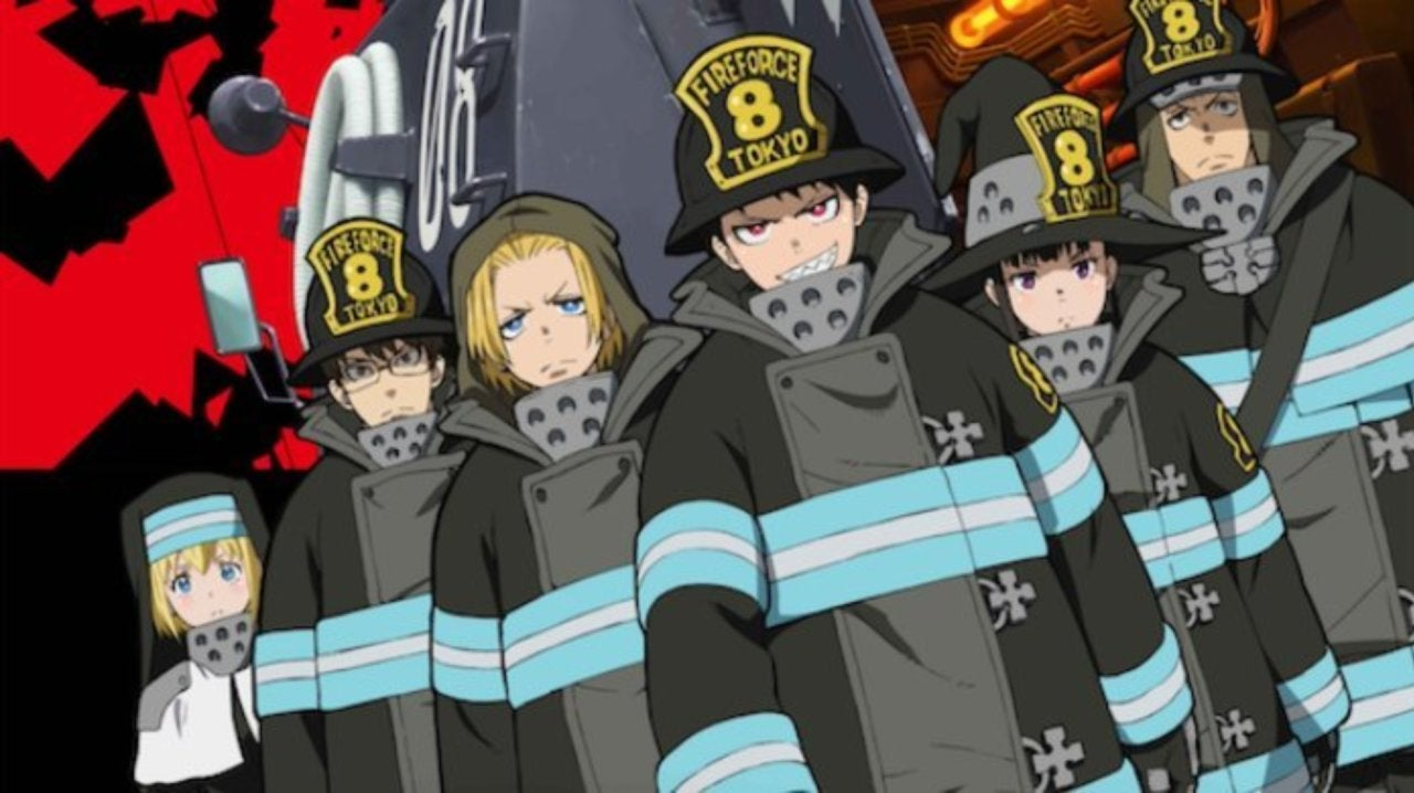 Fire Force English Dub to Premiere at Anime Expo 2019