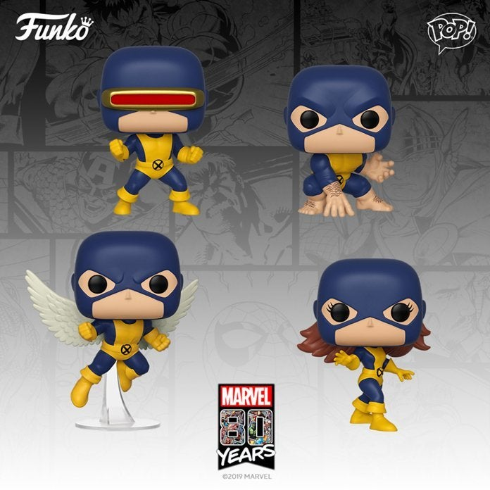 Cyclops First Appearance Marvel 80th Funko Pop Vinyl