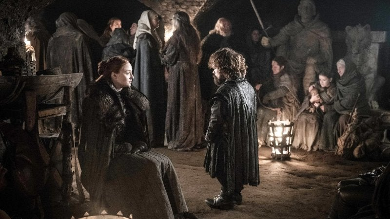 Game of Thrones Battle Winterfell Tyrion Sansa Crypts