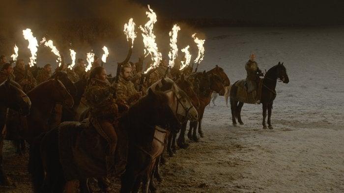 game of thrones episode 3 dothraki battle