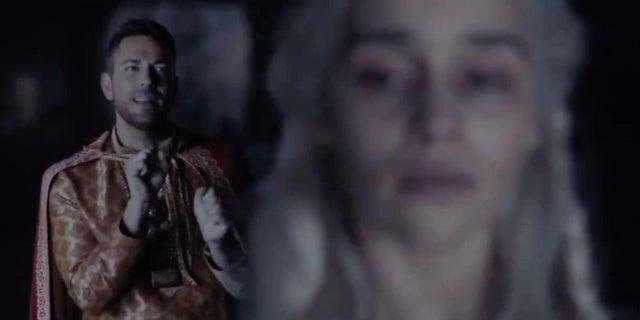 Game of Thrones: Zachary Levi Betrays Daenerys in MTV Awards Parody