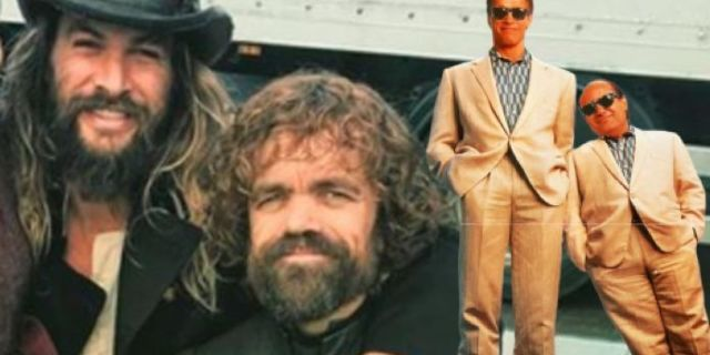 Jason Momoa Says He Would Absolutely Do a Twins Remake With Game of Thrones Co-Star Peter Dinklage