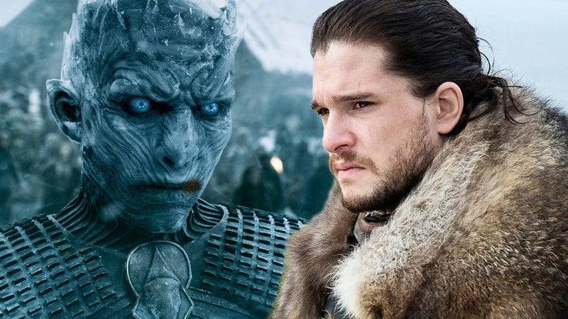 Game Thrones Jon Snow Vs Night King