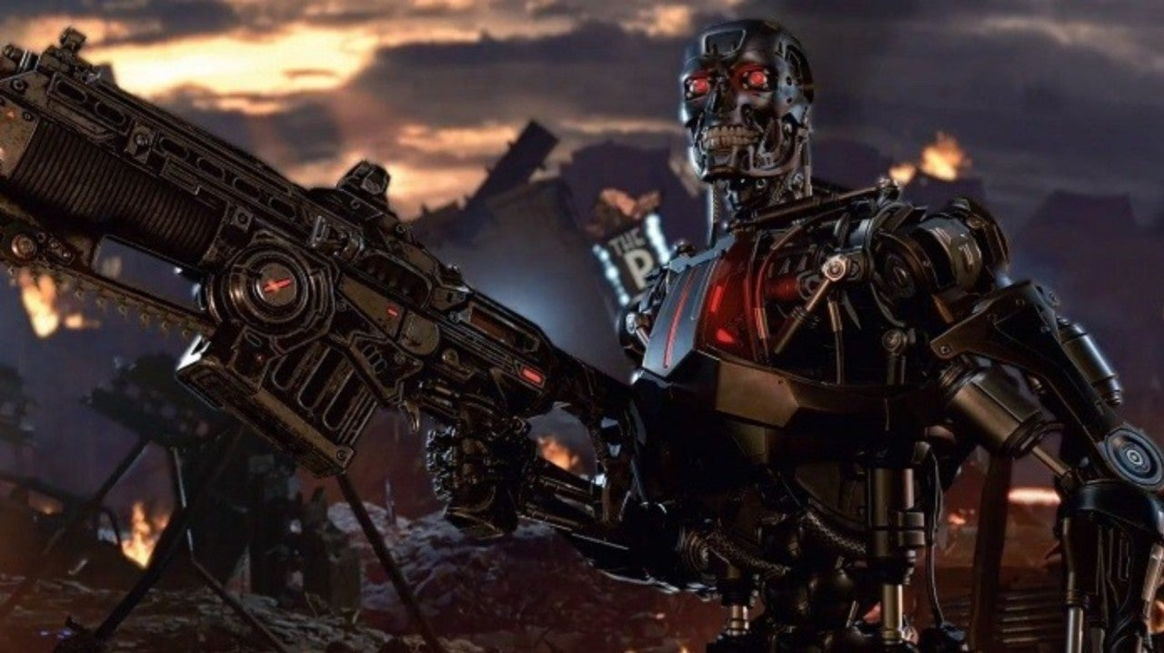 Gears 5 Trailer Reveals Terminator Crossover