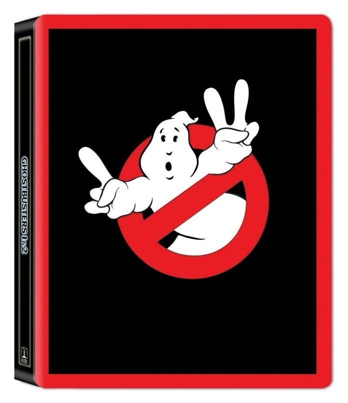 Ghostbusters I and II steelbook