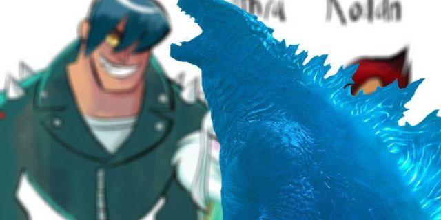 Godzilla-Cartoon