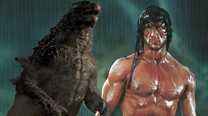Godzilla vs Rambo Mashup Trailer