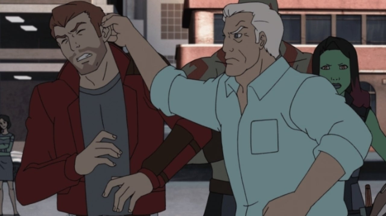 Henry Winkler Plays Peter Quill's Grandpa in Marvel's Guardians of the Galaxy: Mission Breakout!