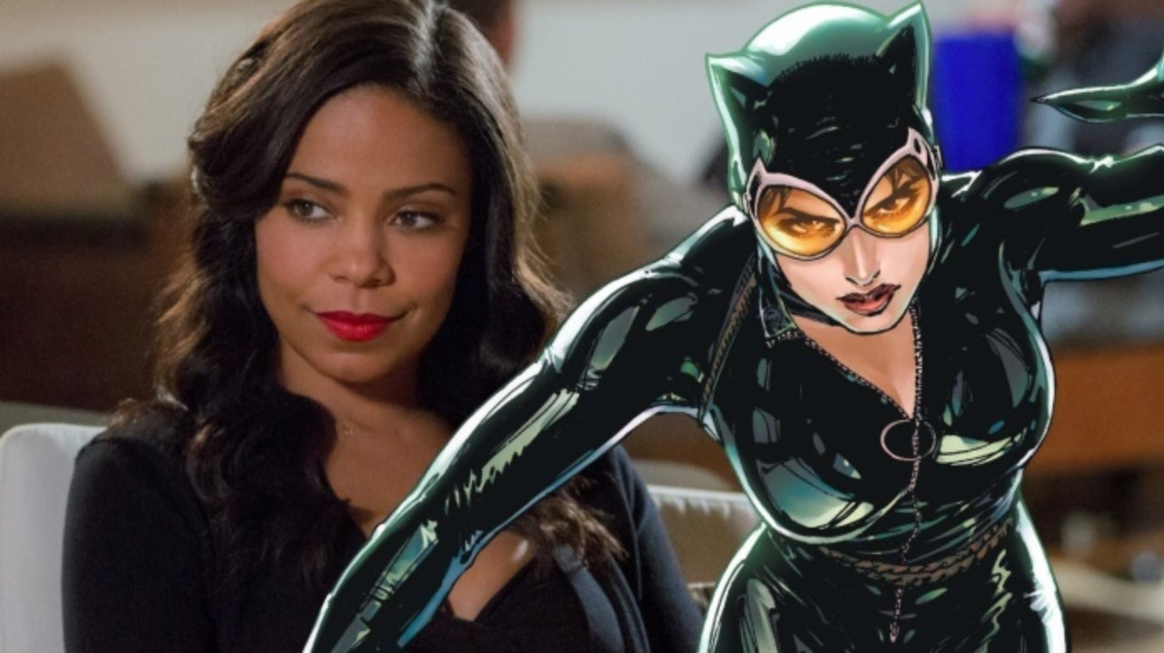 Sanaa Lathan Cast as Catwoman in Harley Quinn Animated Series