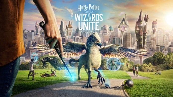 Harry Potter Wizards Unite key art