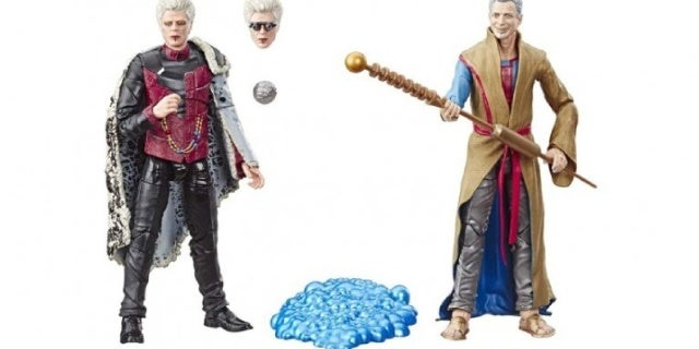 Marvel Cinematic Universe's Grandmaster and Collector Get Exclusive Comic-Con Figures