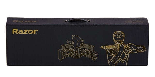 Hasbro-Power-Rangers-Green-Ranger-SDCC-Razor-Scooter-Box