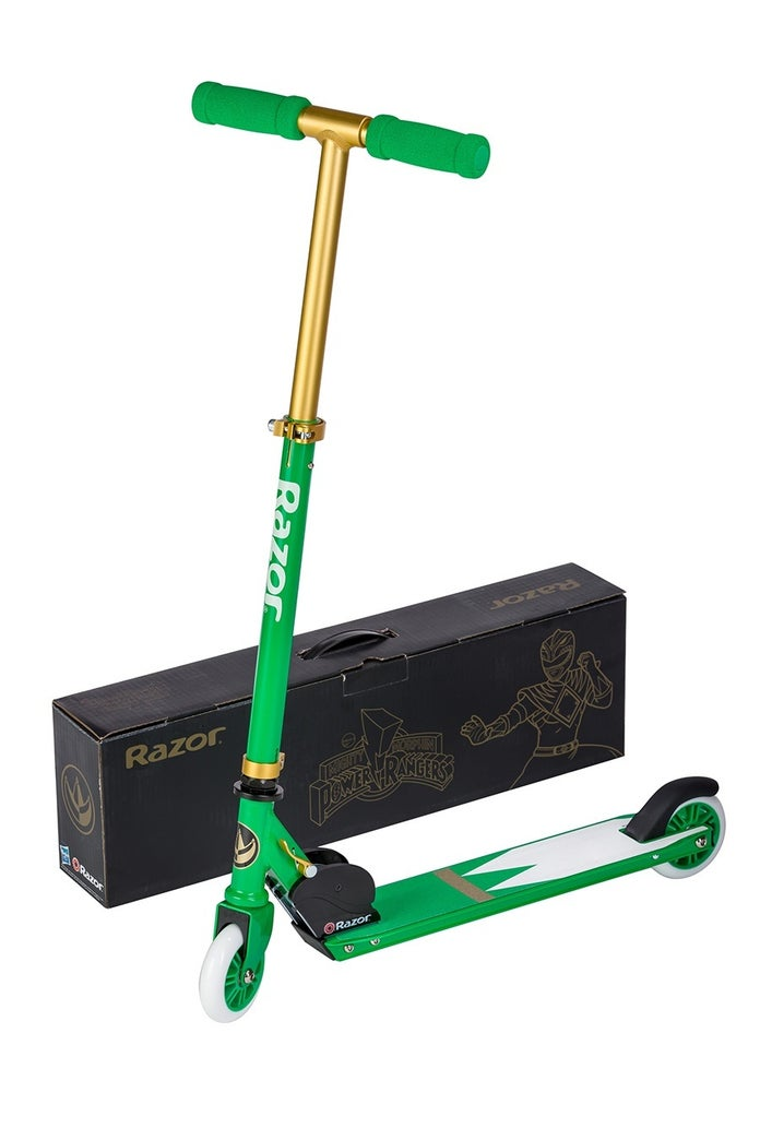 Hasbro-Power-Rangers-Green-Ranger-SDCC-Razor-Scooter-Hero