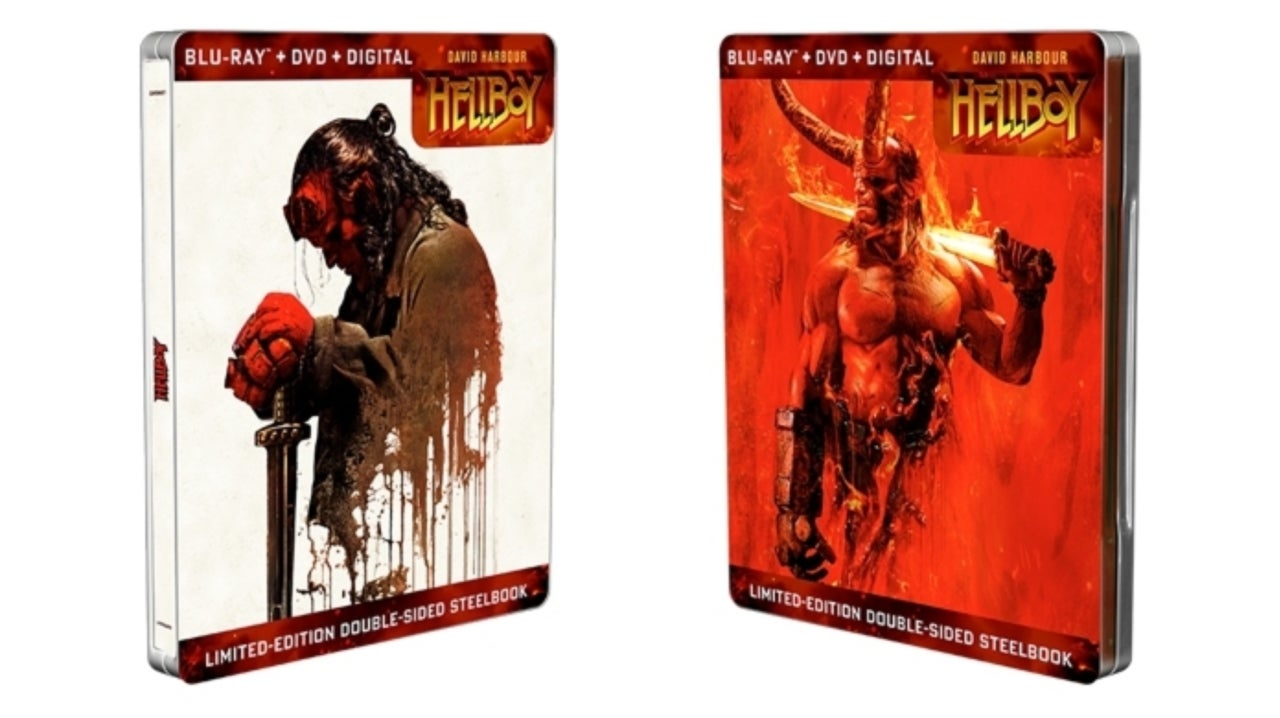 Exclusive First Look at Retailer-Exclusive Hellboy Home Media Releases