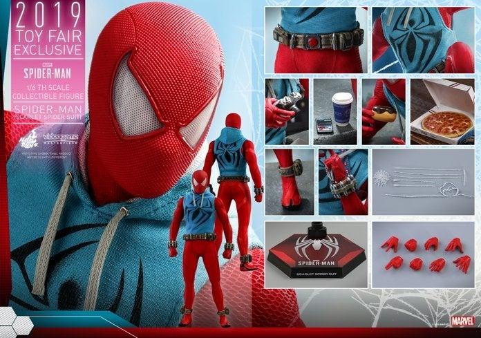 Hot Toys - Marvel Spider-Man - Spider-Man (Scarlet Spider Suit) collectible figure_PR21