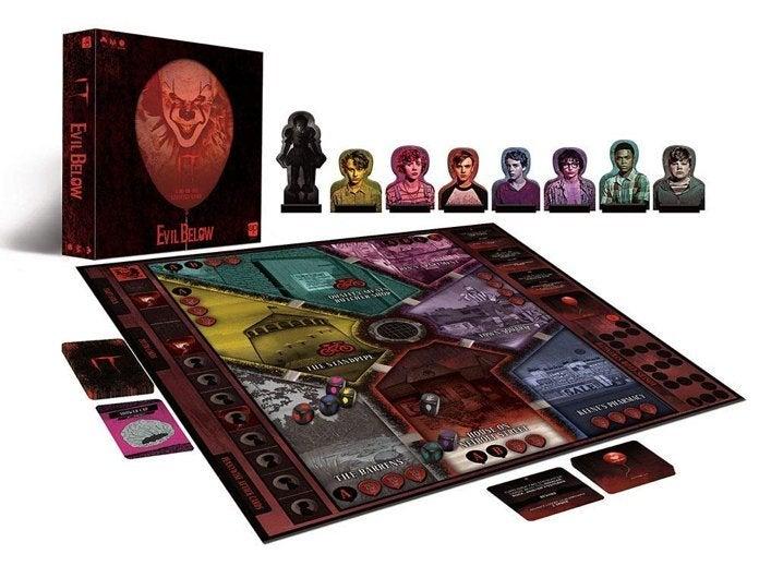 it-evil-below-board-game