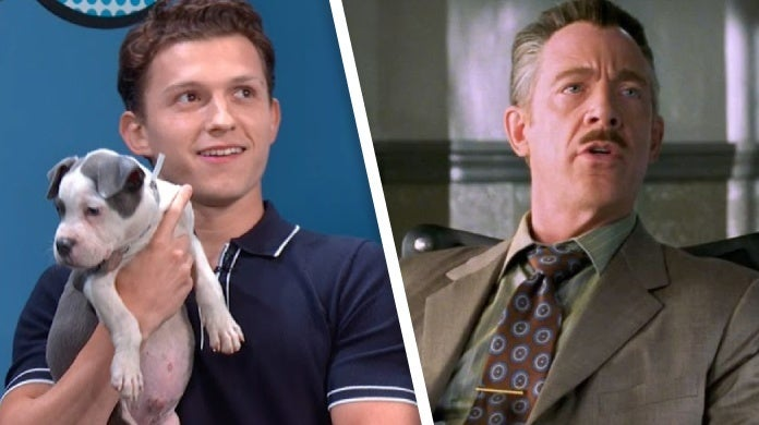 j jonah jameson dog tom holland
