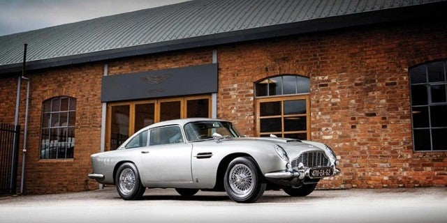 James Bond's Aston Martin From Goldfinger to Go up for Auction for an Estimated $4 Million Plus