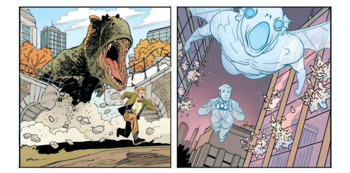 Jimmy Olsen #1 Review - Dinosaurs and Ghosts